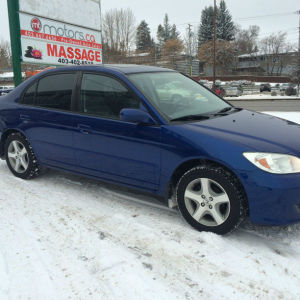2005 Honda civic Si Sedan manual loaded service records $5,995 SOLD!!!