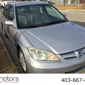 2004 HONDA CIVIC LX LOW KMS AUTOMATIC SEDAN WARRANTY INSPECTED
