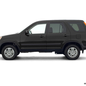 2003 HONDA CR-V EX BLACK ON BLACK AUTOMATIC AWD