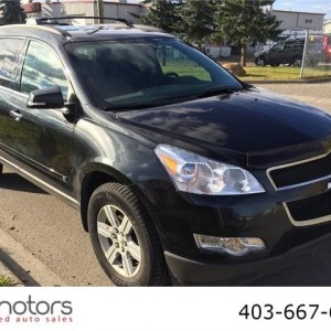 2010 Chevrolet Traverse LT back up camera 7 passenger FWD