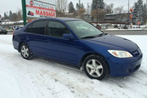 2005 Honda civic Si Sedan manual loaded service records $5,995