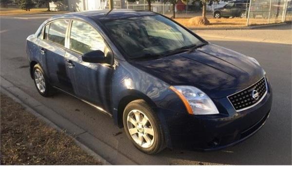 2009 Nissan Sentra 2.0 S 6 speed manual low km